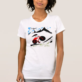 Anna cycle in the mounts T-Shirt