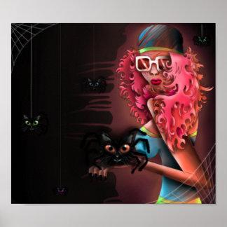 Anna et les araignées poster