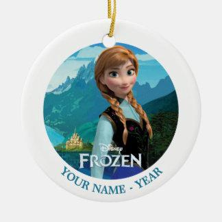 Anna | Frozen Logo And Anna Add Your Name Ceramic Ornament