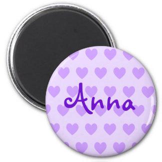 Anna in Purple Magnet