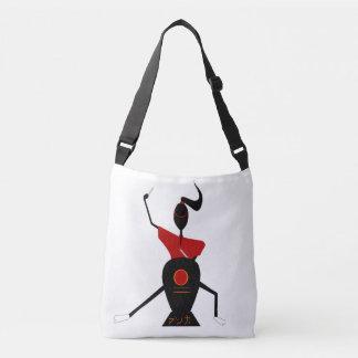 Anna Japanese drum Crossbody Bag