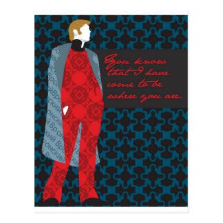 "Anna Karenina Quote Gift ""Count Vronsky"" Postcard"