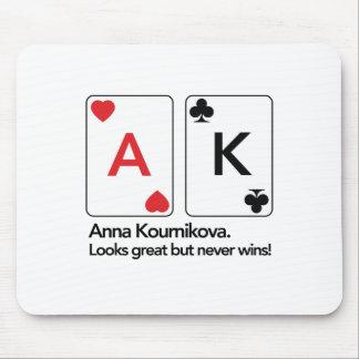 Anna Kournikova / Ace King Mouse Pad