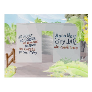 Anna Maria City Jail Postcard