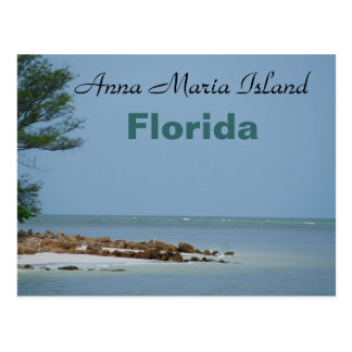Anna Maria Island, Florida postcard