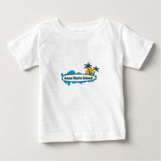 Anna Maria Island - Surf Design. Baby T-Shirt