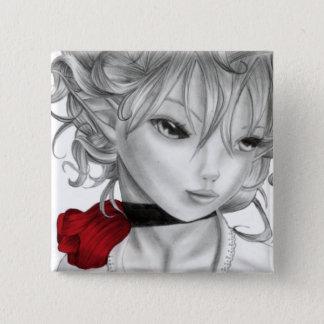 Anna Marie 2 Inch Square Button