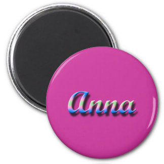 Anna_Name Magnet