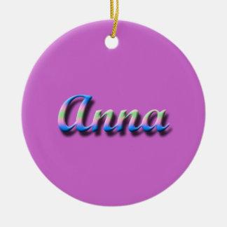 Anna_Name Ornament