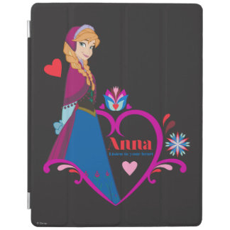 Anna | Pink Heart iPad Cover