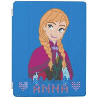 Anna | Portrait with Name iPad Cover