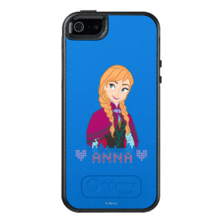 Anna | Portrait with Name OtterBox iPhone 5/5s/SE Case