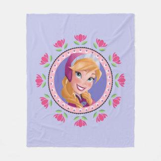 Anna | Princess Fleece Blanket