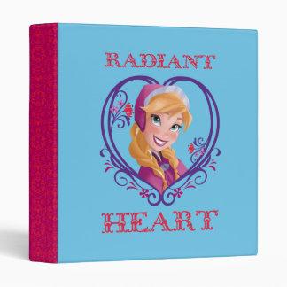 Anna, Radiant Heart Vinyl Binder