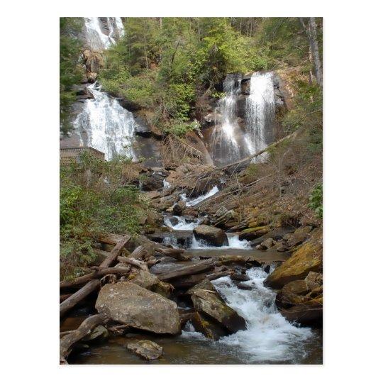 Anna Ruby Falls Georgia Postcard
