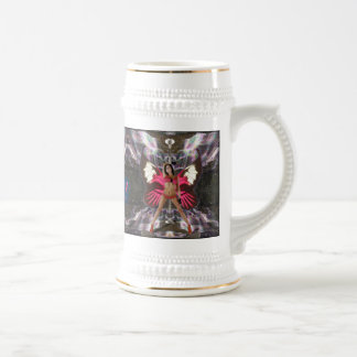 Anna Siry Rainbow Waterfall Beer Stein