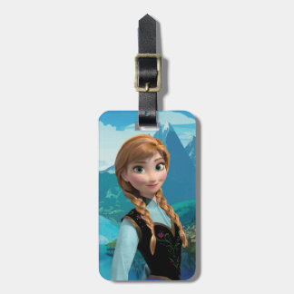 Anna | Standing Luggage Tag