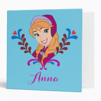 Anna | Strong Heart Vinyl Binder