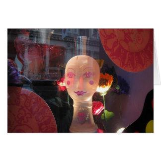 Anna Sui window in Soho NY Card