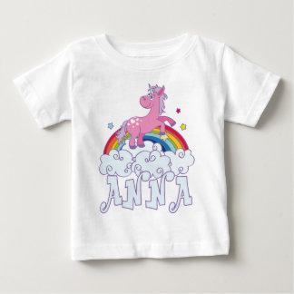 Anna Unicorn Name Baby T-Shirt