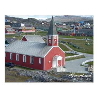 Annaasisutta Oqaluffia (Our Savior's Church) Postcard