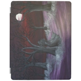 Annabel Lee dark misty forest iPad case iPad Cover