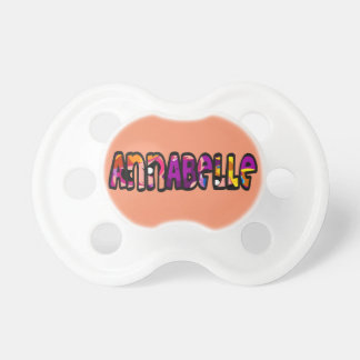 Annabelle pacifier
