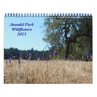 Annadel Park Wildflowers 2015 Calendar