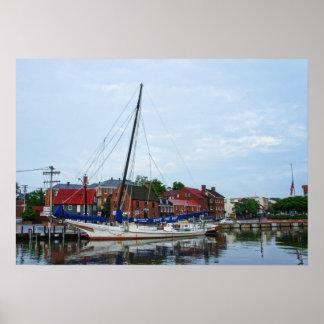 Annapolis Harbor Poster