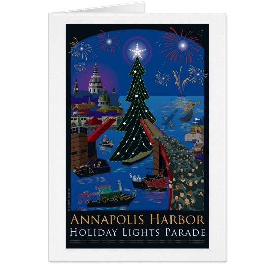 Annapolis Holiday Lights Parade Card