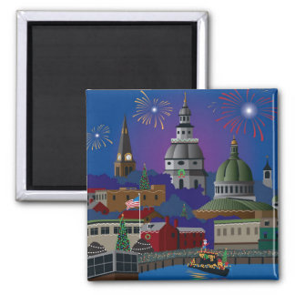 Annapolis Holiday Magnet