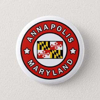 Annapolis Maryland 2 Inch Round Button