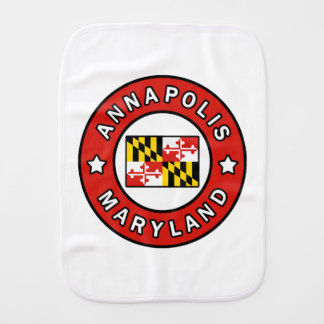 Annapolis Maryland Burp Cloth