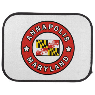 Annapolis Maryland Car Mat
