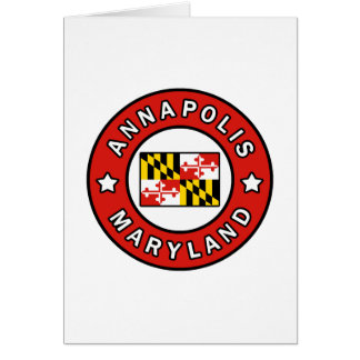 Annapolis Maryland Card