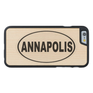 Annapolis Maryland Carved Maple iPhone 6 Case