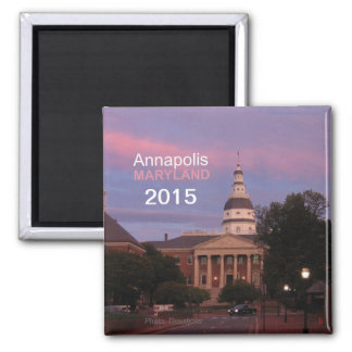 Annapolis Maryland Fridge Magnet Change Year