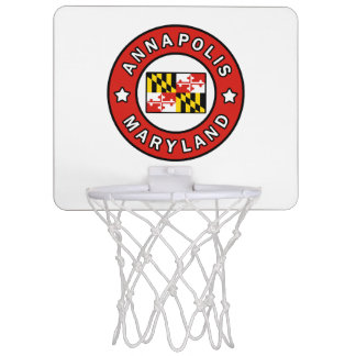 Annapolis Maryland Mini Basketball Hoop