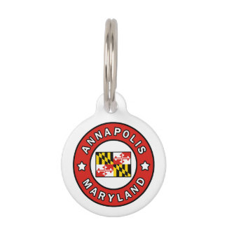 Annapolis Maryland Pet Tag