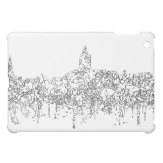 Annapolis Maryland Skyline SG- Black Line iPad Mini Cover