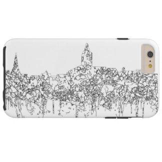 Annapolis Maryland Skyline SG- Black Line Tough iPhone 6 Plus Case