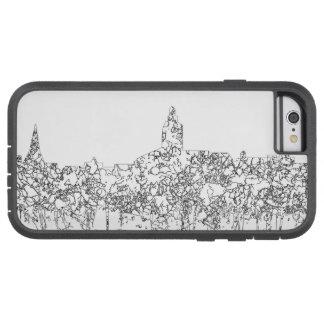 Annapolis Maryland Skyline SG- Black Line Tough Xtreme iPhone 6 Case