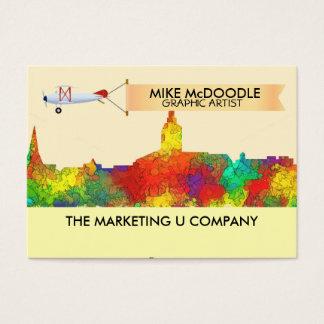 Annapolis Maryland Skyline-SG Business Card