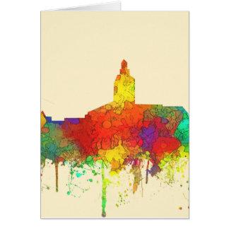 Annapolis Maryland Skyline-SG Card