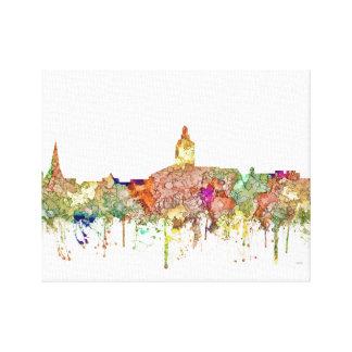 Annapolis Maryland Skyline SG-Faded Glory Canvas Print