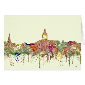 Annapolis Maryland Skyline SG-Faded Glory Card