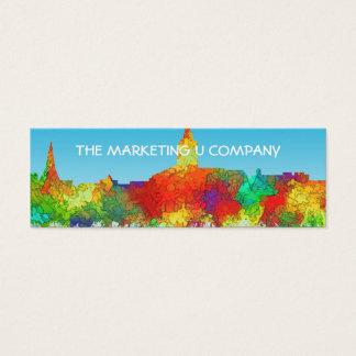 Annapolis Maryland Skyline-SG Mini Business Card