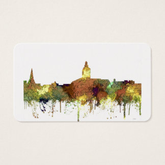 Annapolis, Maryland Skyline SG - Safari Buff Business Card