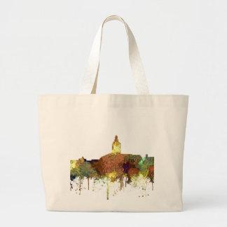 Annapolis, Maryland Skyline SG - Safari Buff Large Tote Bag