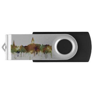 Annapolis, Maryland Skyline SG - Safari Buff USB Flash Drive